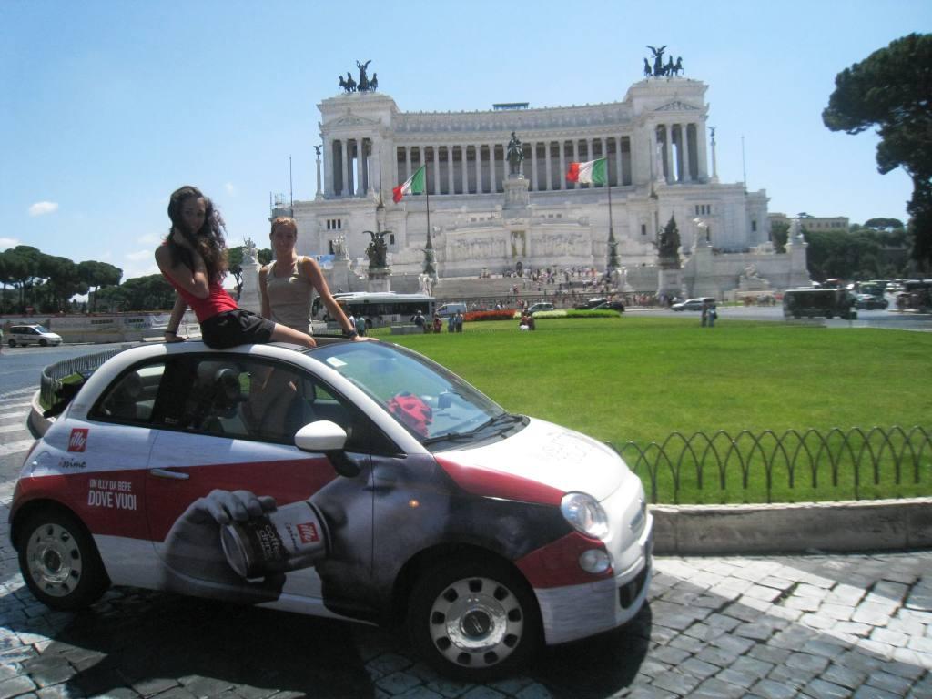Tour Illy a Roma